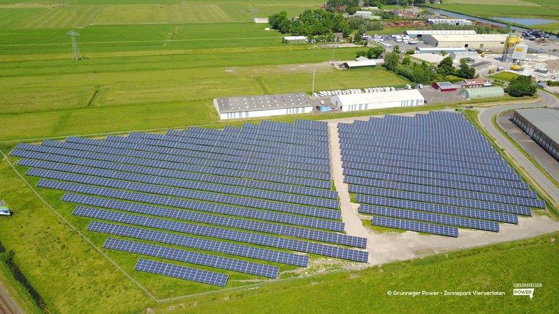 Solar Park Vierverlaten